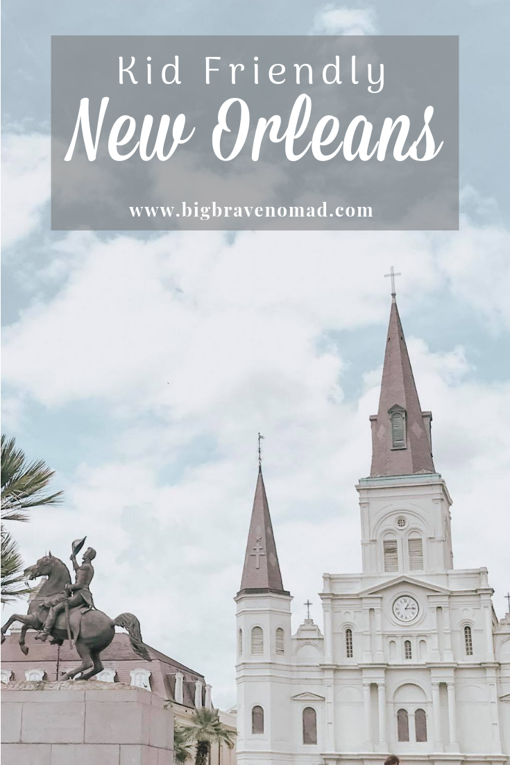 New Orleans is a very family friendly city. From an incredible zoo, to delicious kid-friendly dining & entertainment, to fun public transportation. The Cresent City has so much to offer and needs to be in the top of the list for family travel locations! #NewOrleans #familytravel