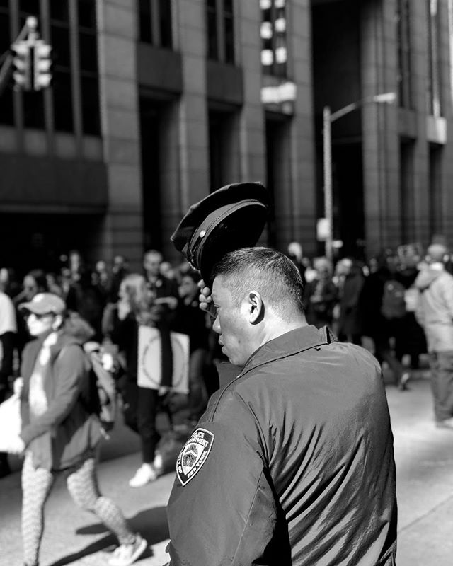 Salute #shotoniphone #marchforourlives . . . . . . . #unite #nypd #loveislove #protect #salute #salutetoservice #spicollective #spi_bnw #spi_streetphotography #nyc #nycphotographer #manhattan #notonemore #guncontrol #makelovenotwar #photo #photos #pic #pics #picture #photographer #pictures #snapshot #art #beautiful #instagood #picoftheday #photooftheday
