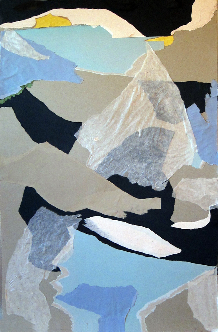 ARTIC DAWN c.2011 approx 33 x 21 paper