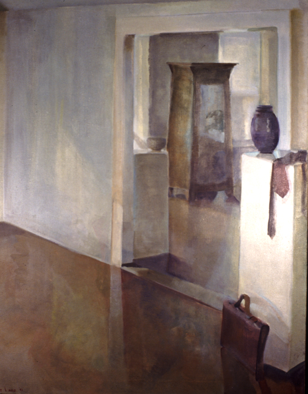 IN EVIDENCE- oil on canvas- 60 x 48- 1992
