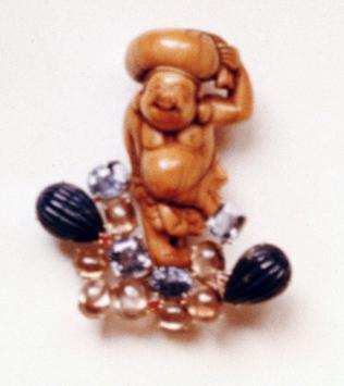 #84 HOTEI IVORY NETSUKE _ lapis lazuli, Ceylon sapphires .jpg
