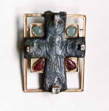 #135 BYZANTINE CROSS _carved rubies, cab. emeralds, diamonds .jpg