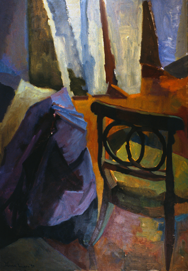INTERSECTIONS- oil on canvas- 52 x 36 - 1994