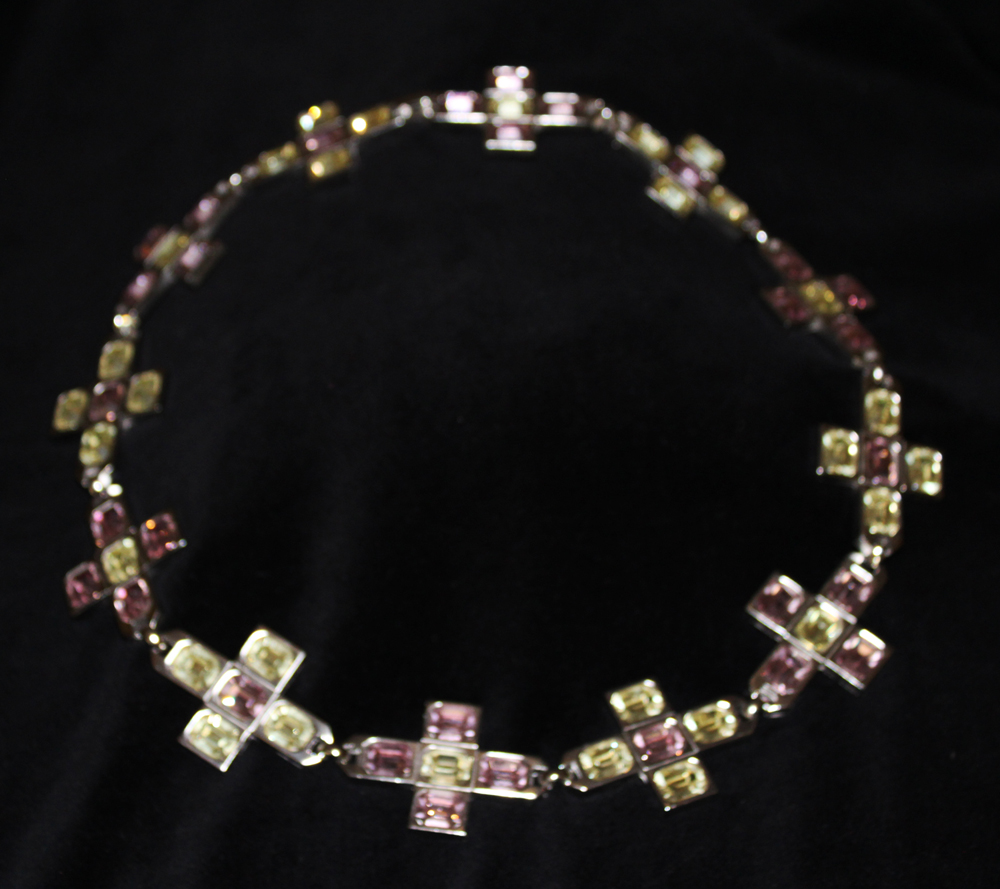 CROSS NECKLACE SILVER-1972
