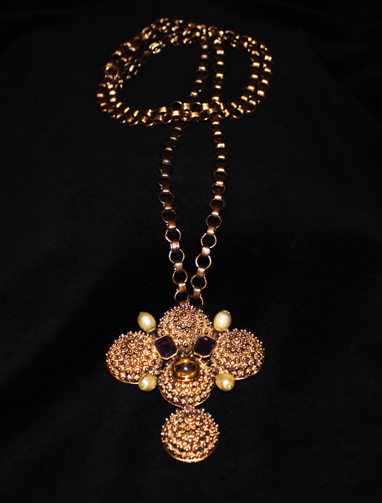 MANDARIN FINIAL NECKLACE-1971