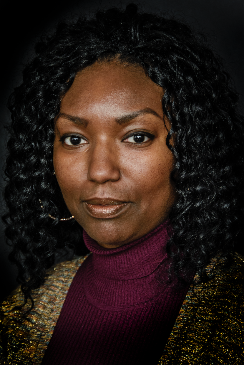 Aqueelah Abdullah   - a MDHHS caseworker whose background in social work inspired her to pursue a career in civil service. Aqueelah is one of many caseworkers who have guided Re:form since its inception, shaping a solution that is rooted in the needs of field staff. Photo by Marisol Dorantes.