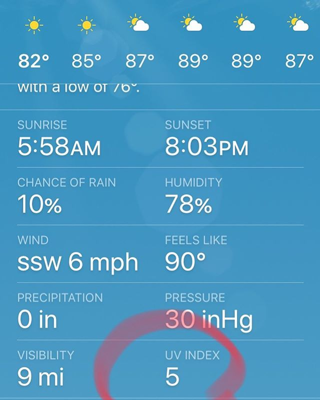"Make sure to check the UV Index today. It's going to be a scorcher in many areas. A quick way to check is by looking at the weather app on your phone (see 📷). ""A UV Index reading of 6 to 7 means high risk of harm from unprotected sun exposure. Protection against skin and eye damage is needed. Reduce time in the sun between 10 a.m. and 4 p.m. If outdoors, seek shade and wear protective clothing, a wide-brimmed hat, and UV-blocking sunglasses."" #brownskintoo #skincancerawareness #melanomaawareness #SPF #protectyourskin"