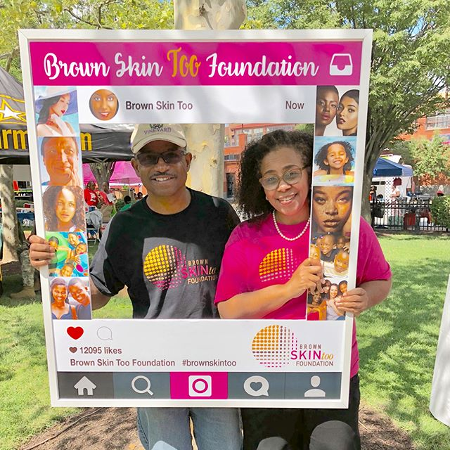 Thanks to our super-dedicated board member Wanda Pennington, MSN, RN and her hubby for spreading education and awareness about skin cancer and promoting skin wellness at the August Quarterly — a 205-year-old celebration of African American religious freedom.  We appreciate everyone who stopped by to see us yesterday during our last event of the summer.  #brownskintoo #melanomaawareness #skincancerawareness #SPF #protectyourskin #shinethelight