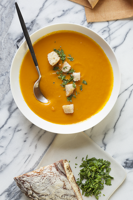 Photo of Carrot Soup by  Ann Cutting.