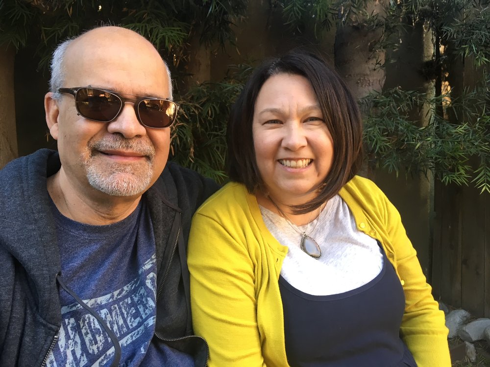 Armando Molina, Artistic Director, Evangeline Ordaz, playwright, Company of Angels