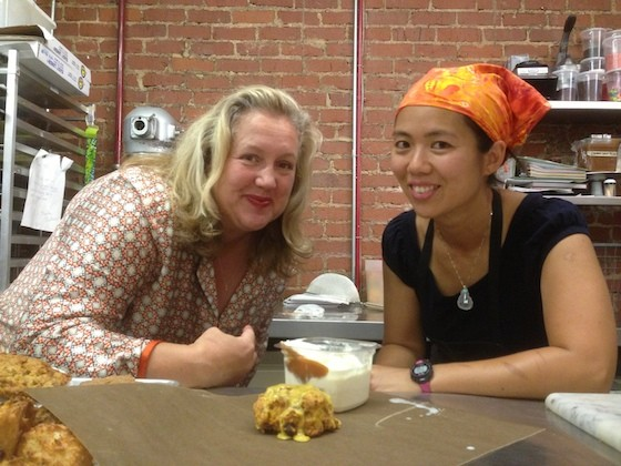 Christine Moore and Cecilia Leung of Lincoln Bakery