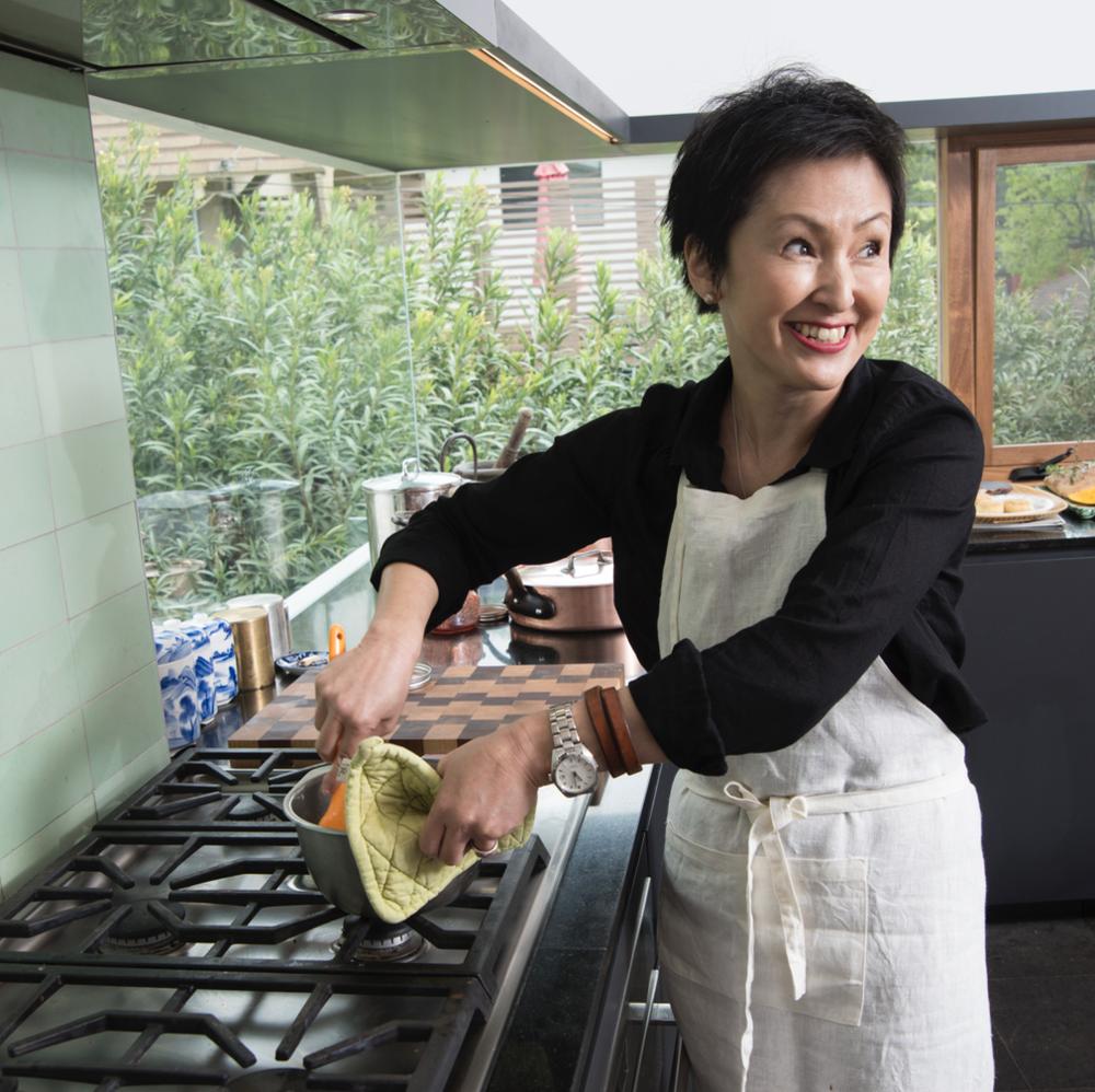Chef Masako Yatabe Thomsen