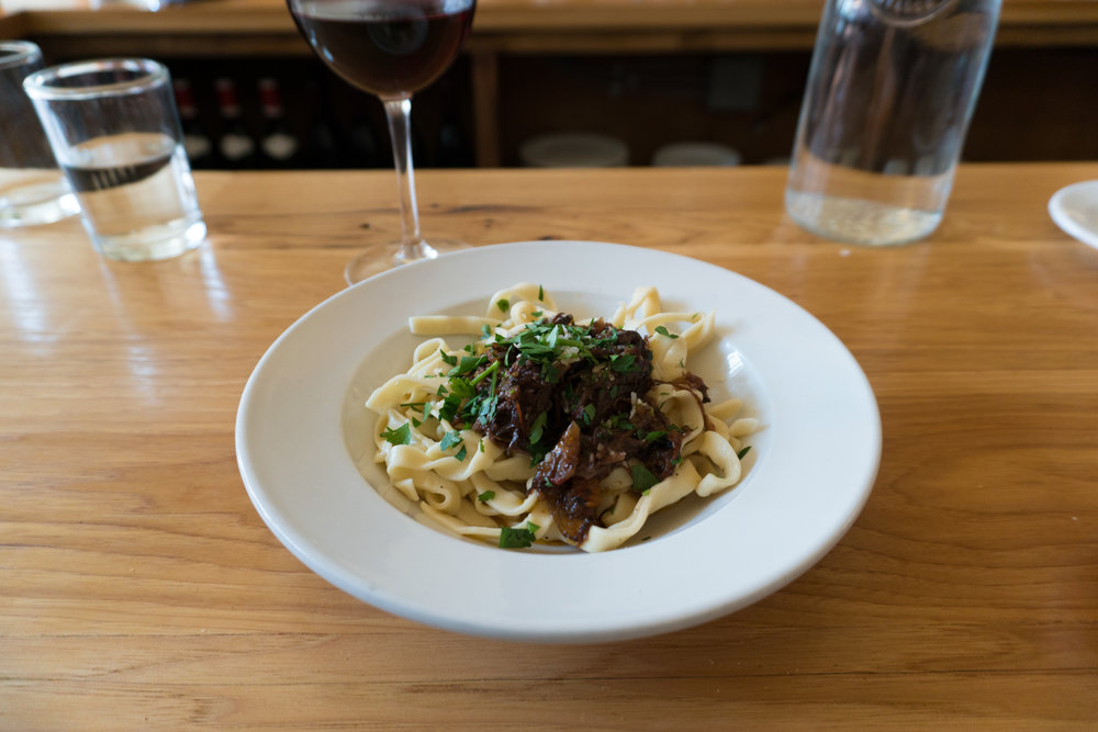 Wild Boar Ragu and Pappardelle