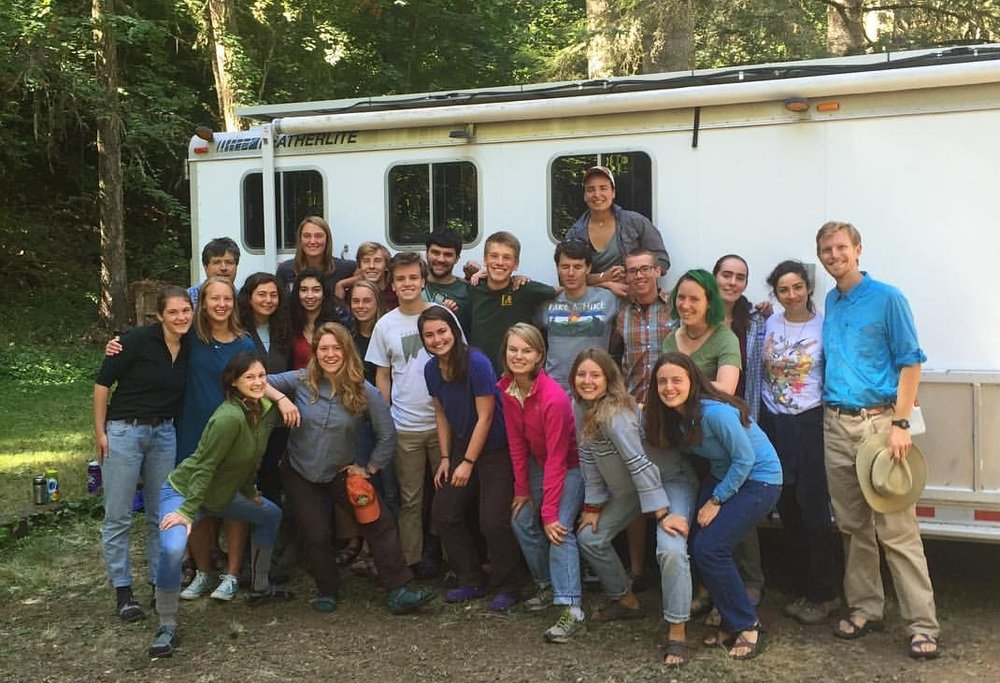 The 2016 Westies, ready to depart from the Johnston Wilderness Campus in Walla Walla.