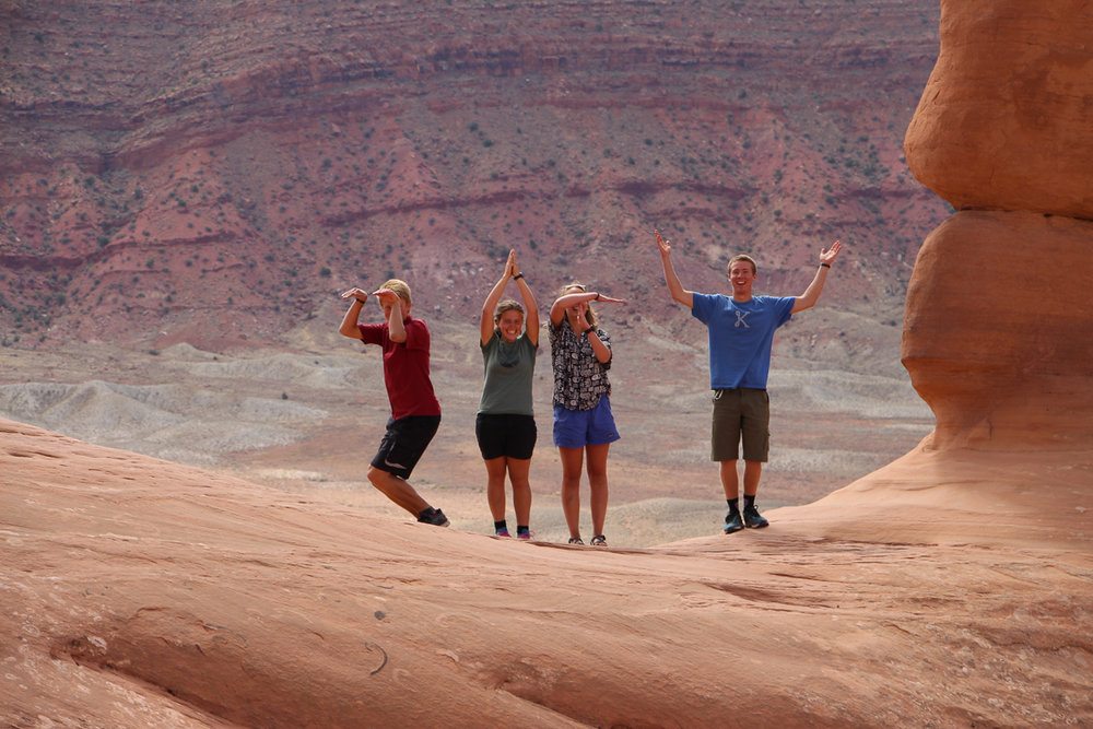 """SITW"" at Delicate Arch"