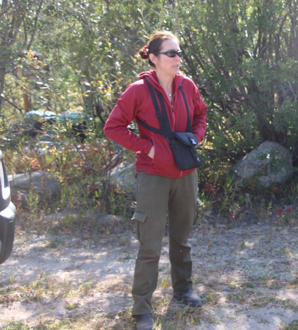Janet Millard   Wildlife Biologist, USFS  Leavenworth, WA