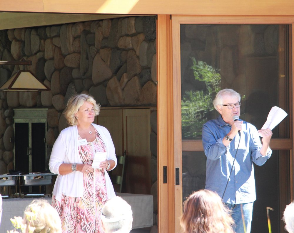 Tom and Sonya Campion,    BIO    Philanthropists and Business Owners  Mazama, WA