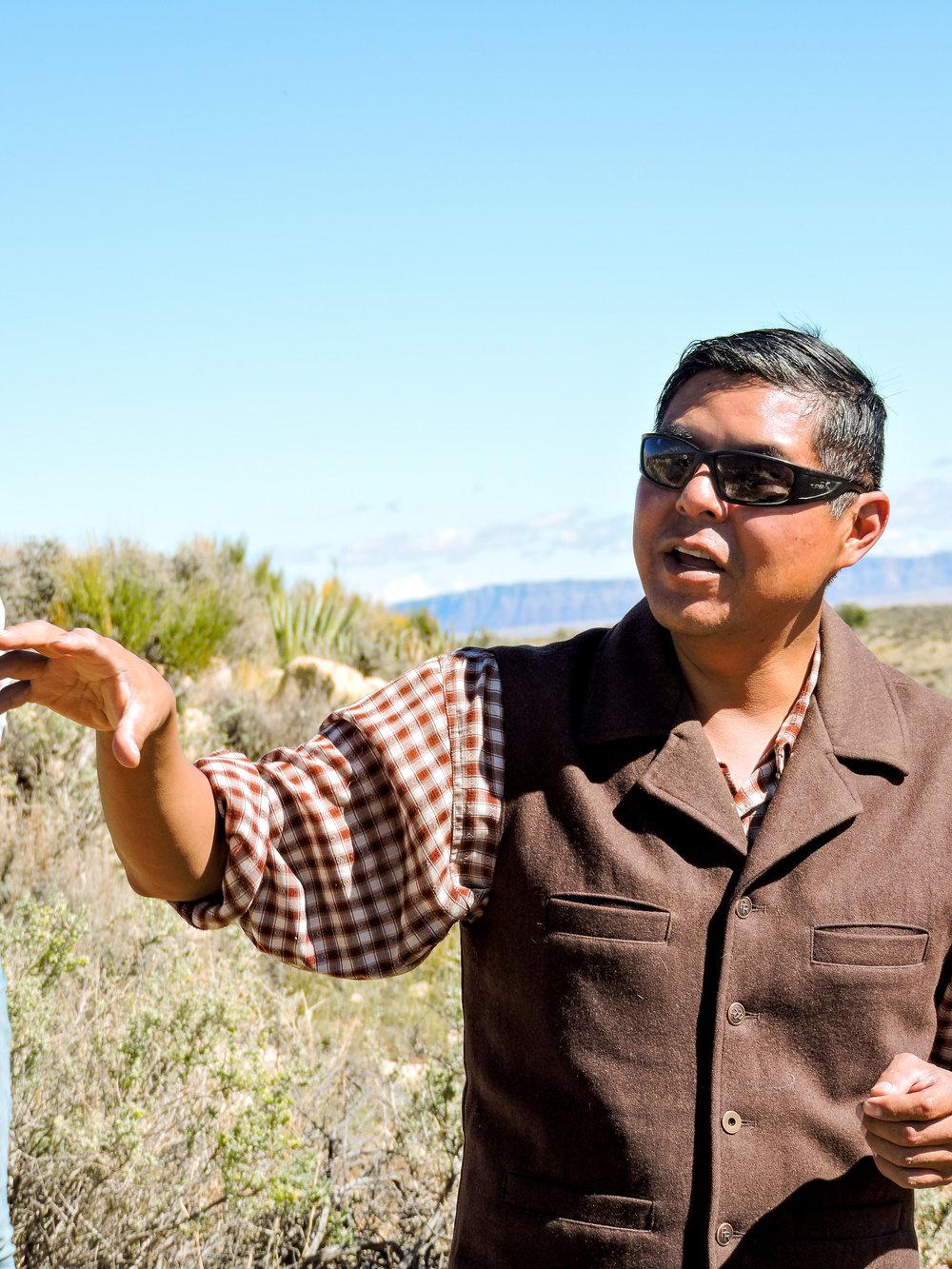 Jason Nez   Archaeologist  Tuba City, AZ