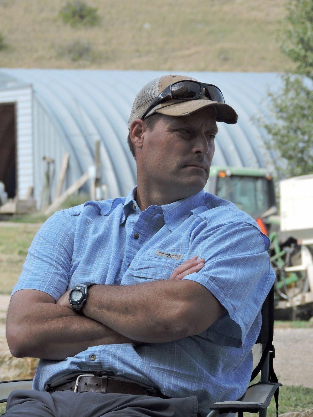 Carter Kruse   Director of Conservation, Turner Enterprises  Flying D Ranch, MT