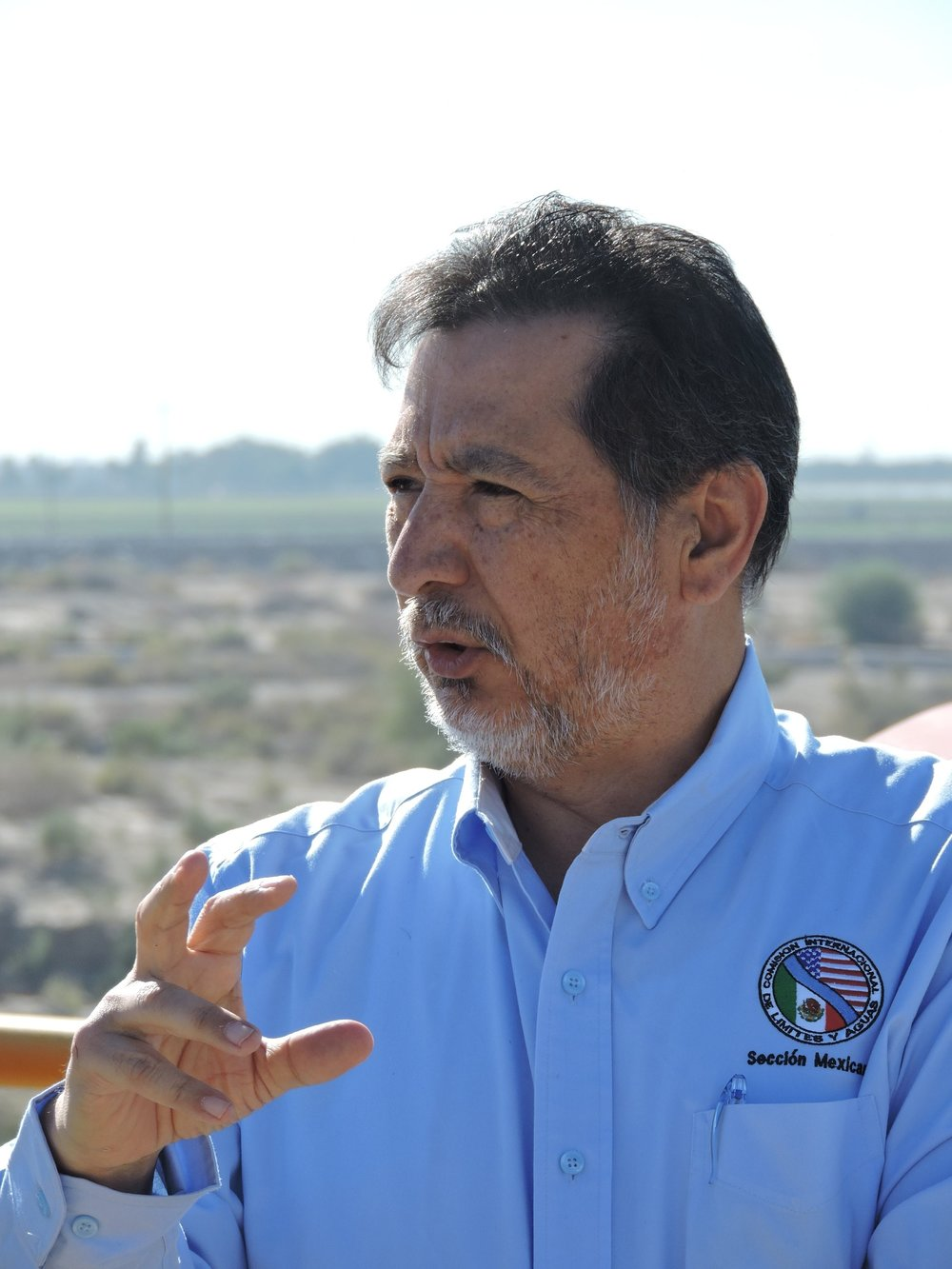 Juan Riosmoreno   International Boundary Water Commission  Mexicali, Baja California