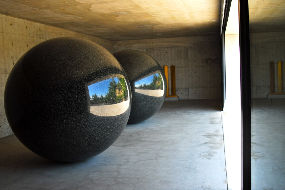 seen/unseen known/unknown by walter de maria in naoshima, japan                                                                                                                                                                         ©yula paluy, 2010