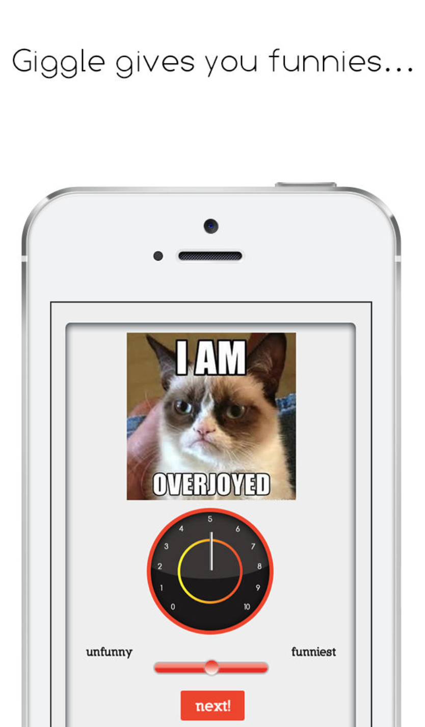 giggle screenshot grumpy cat