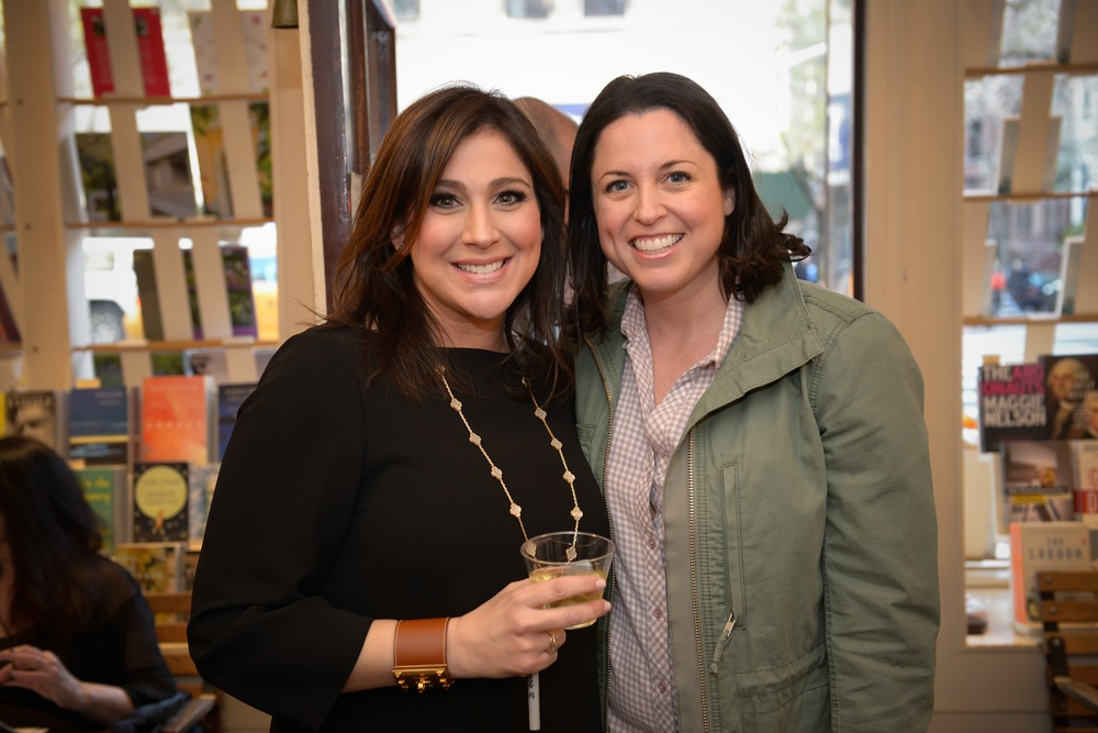 With author Elyssa Friedland
