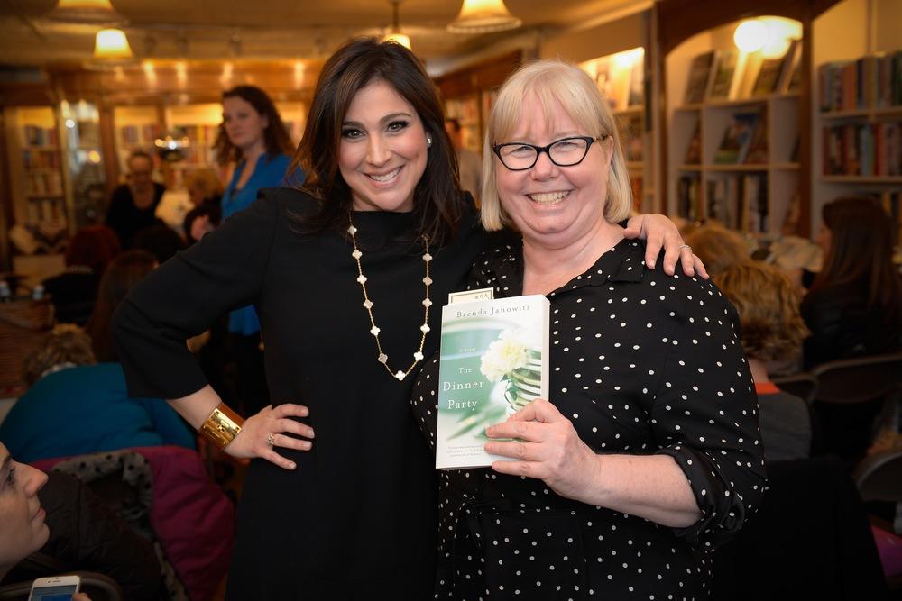 With my editor, Brenda Copeland