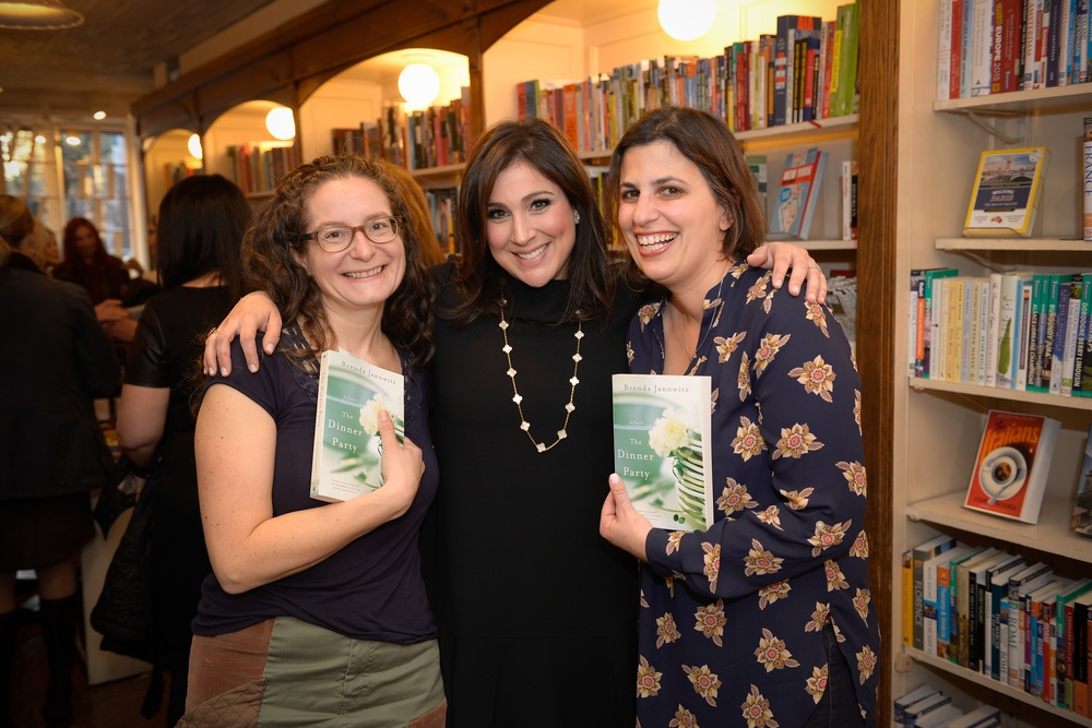 With authors Lynn Messina and Ariella Papa