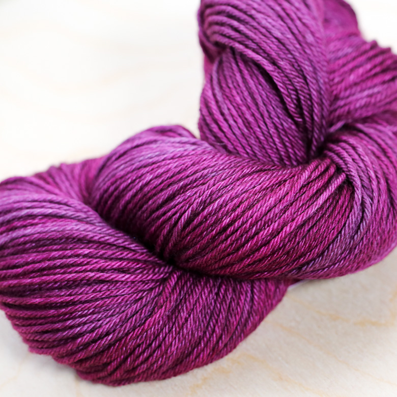 Superwash Worsted   Raspberry