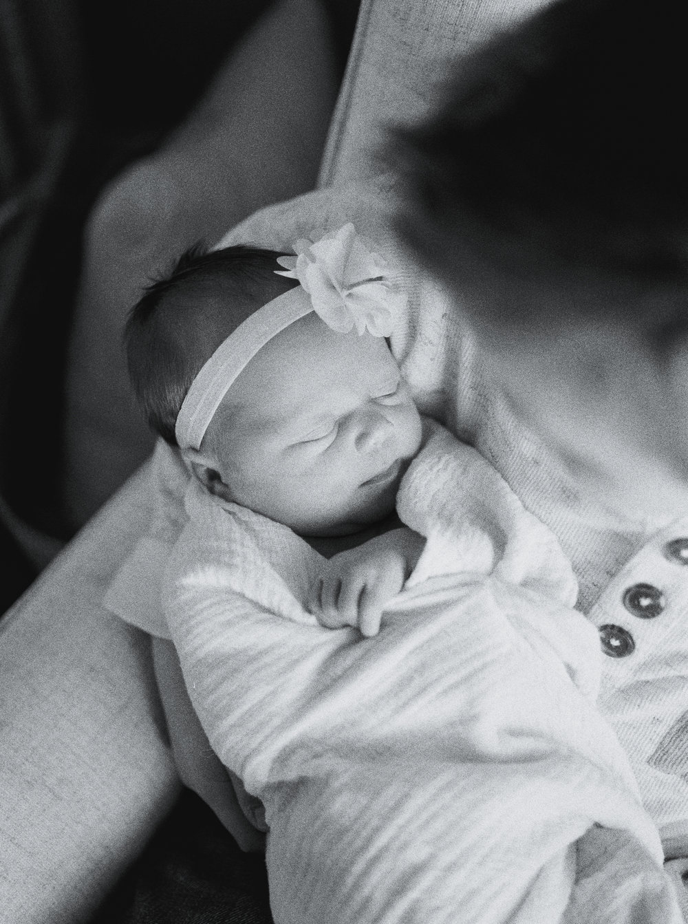 Milner Georgia In-Home Film Newborn Session 4
