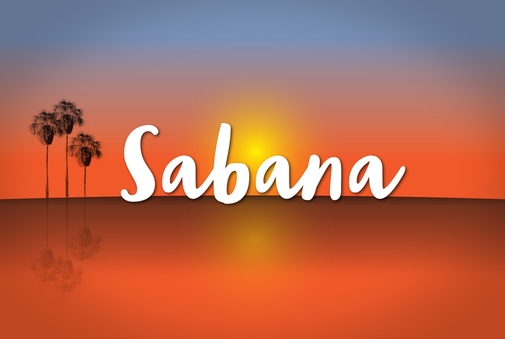 Sabana logo illustrated