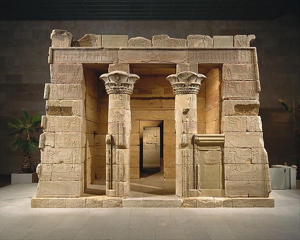 Temple of Dendur.  http://www.metmuseum.org/