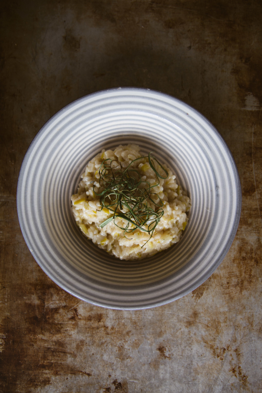 Leek:blue cheese risotto 3 copy.JPG