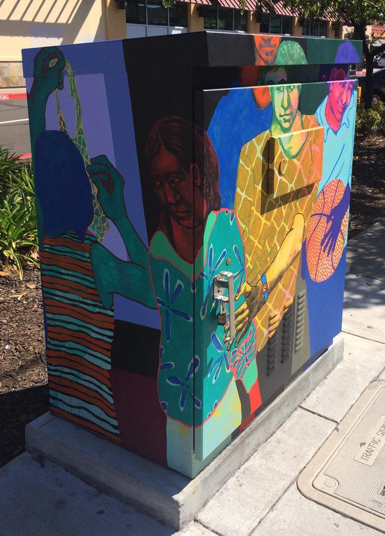 San Leandro Utility Box