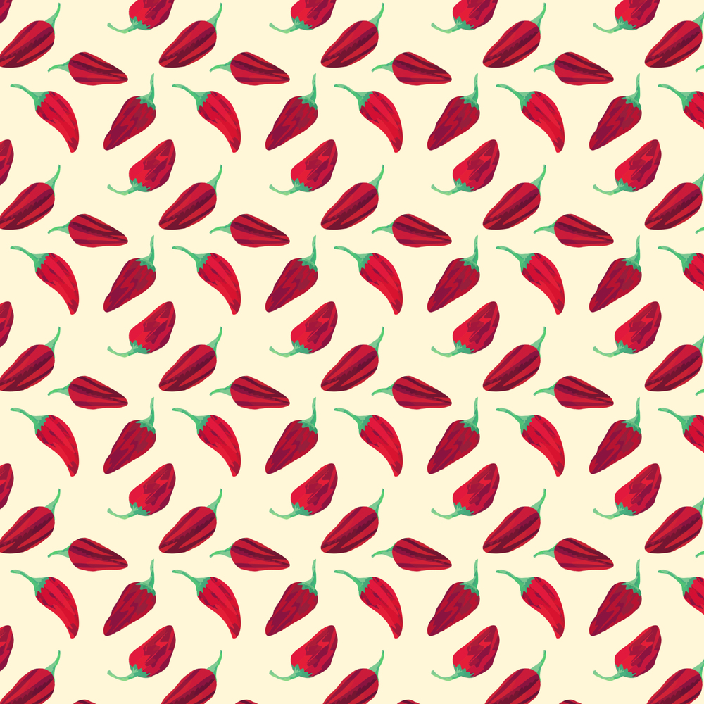 Fish Peppers  Pattern