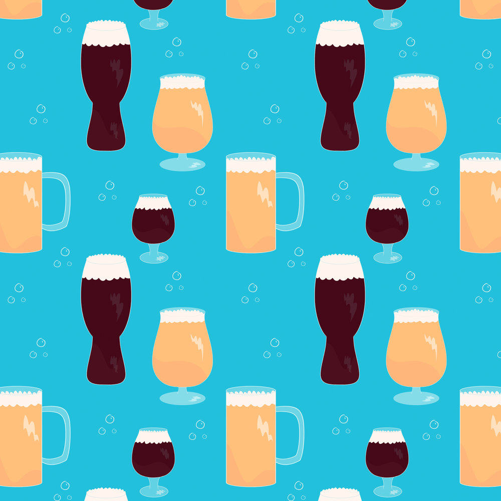 Pattern for Parts & Labor and Diamondback Brewing Company