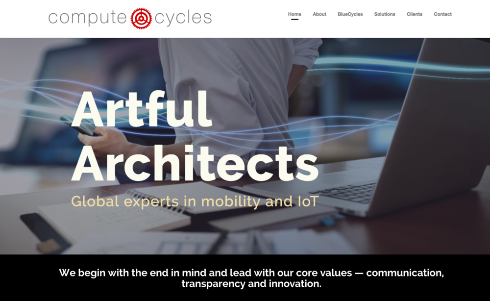 Compute Cycles Website by Niya Creative