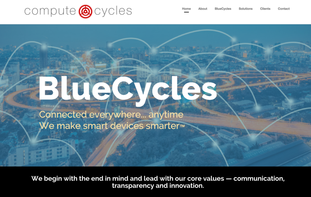 Blue Cycles Product Launch, Niya Creative Design