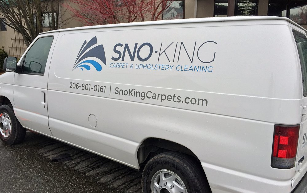 Our van while cleaning at the Edmonds Conference Center