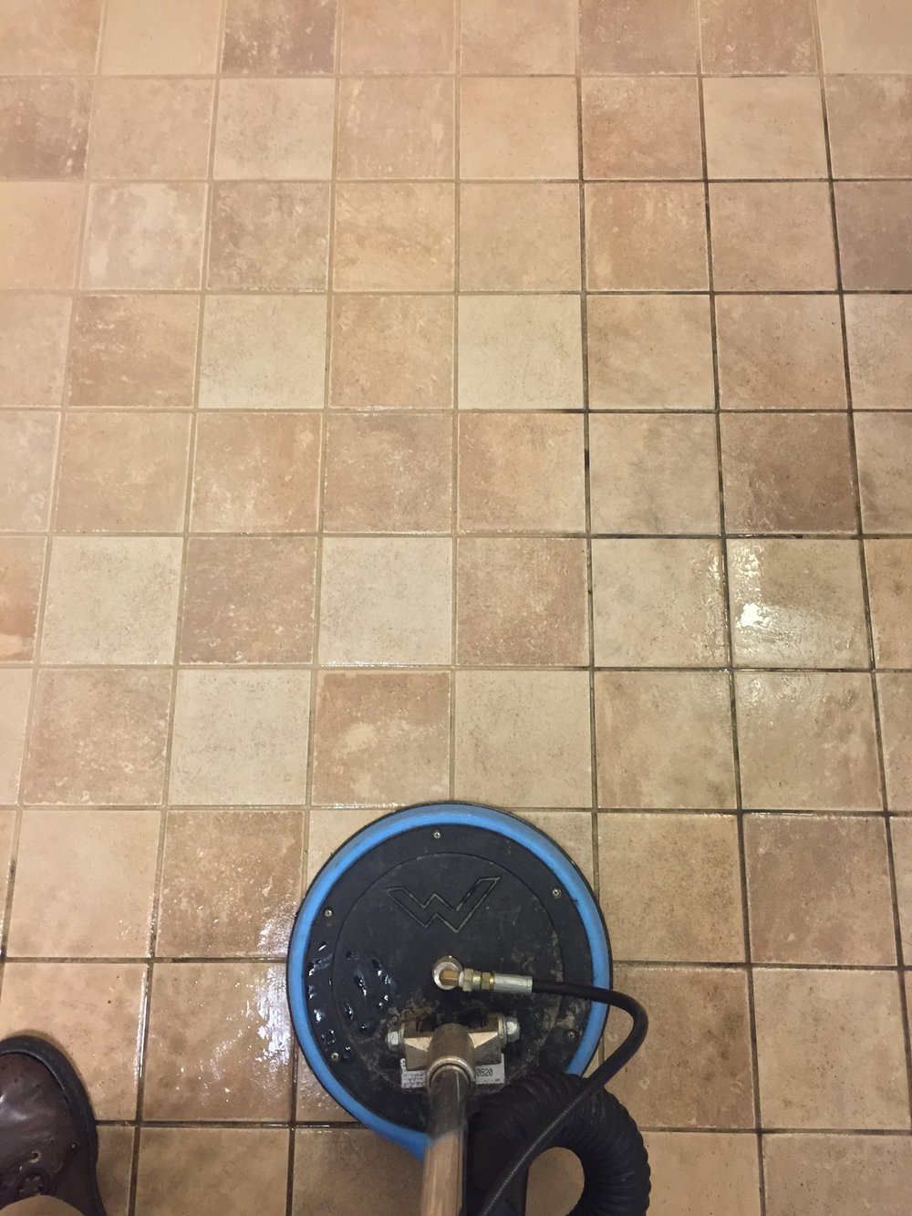 Grout cleaning in Edmonds