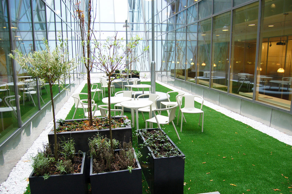 #courtyards and synthetic grass