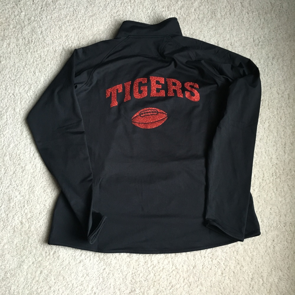 SW Black ladies 1/4 zip back