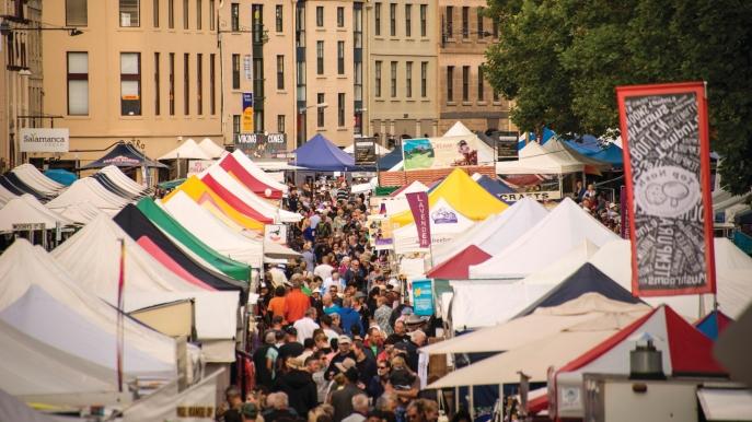 Salamanca Market, Hobart, TAS