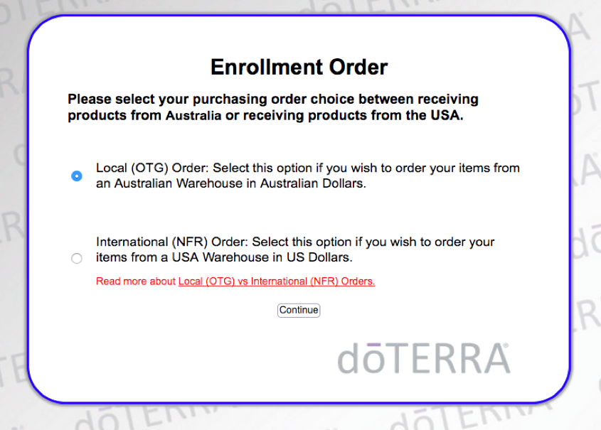 doterra how to order
