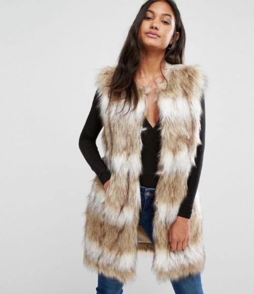 Faux Fur Jumpsuit