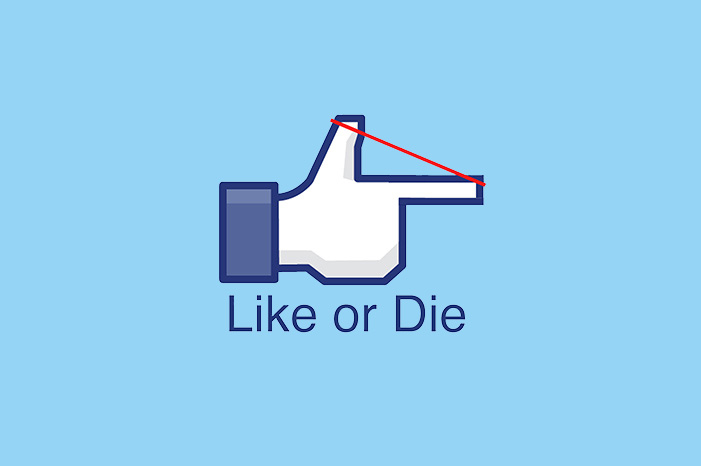 Design for T-shirt : Like or Die, 2013