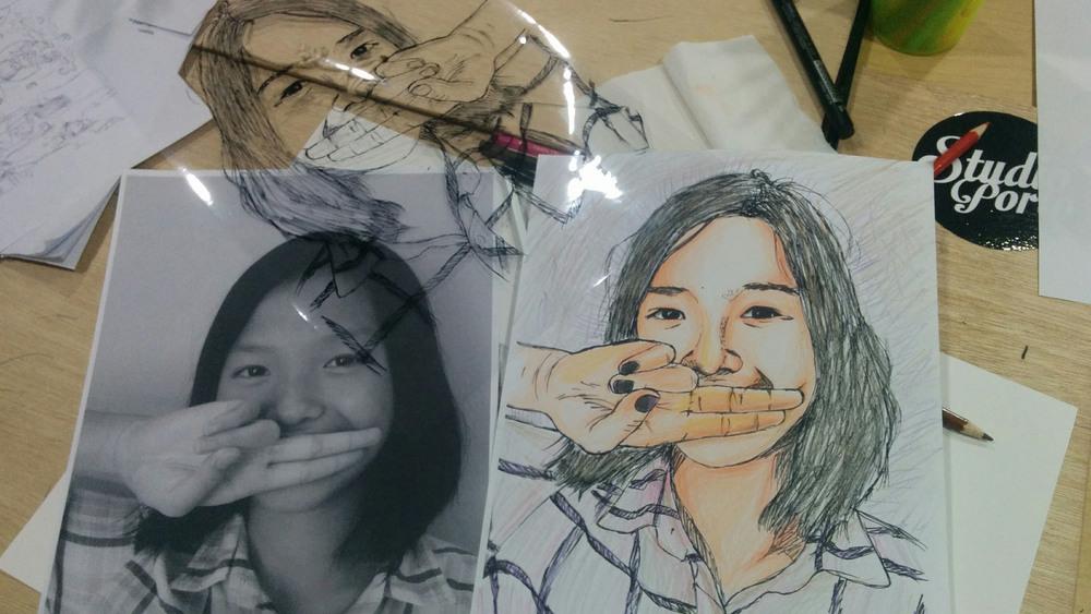 Hasil Trace anak kelas 7 (SMP kelas 1)
