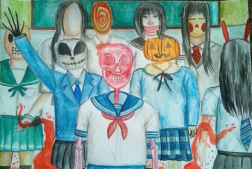 Judul : The School Ghost Reunion Artis : Riky Sucksuu Medium :