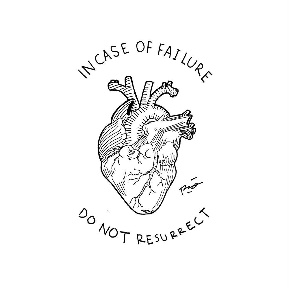 """Judul : """"Incase of Failure"""" Artis : Mario Noya Medium : Pen on Paper"""